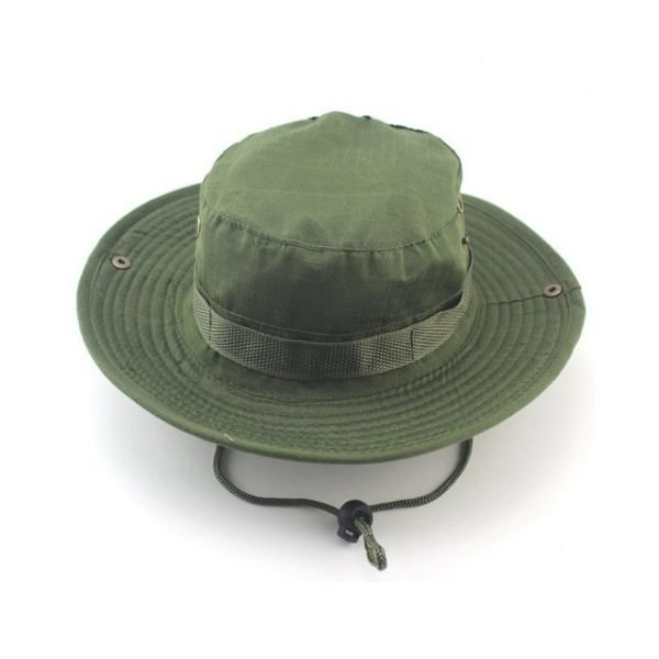 Summer Camo Fisherman Casual Bucket Camping Hiking Travel fishing mountaineering sombrero sunshade Bonnie hat For women men 18