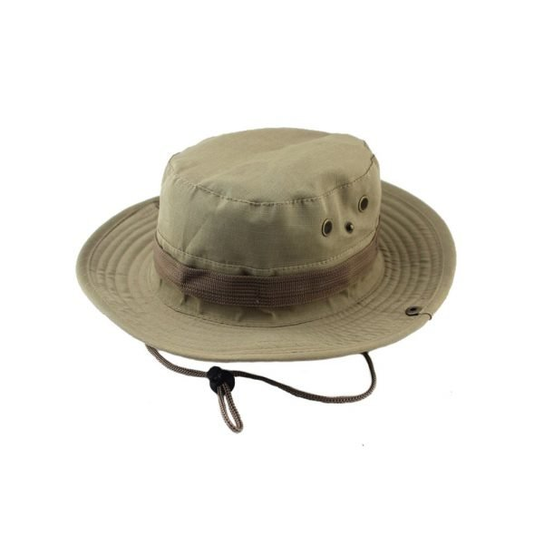 Summer Camo Fisherman Casual Bucket Camping Hiking Travel fishing mountaineering sombrero sunshade Bonnie hat For women men 12