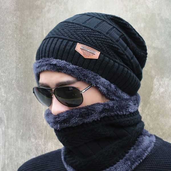 new knitted hat fashion Beanies Knit Men's Winter Hat Caps Skullies Bonnet For Men Women Beanie Casual Warm Baggy Bouncy 8