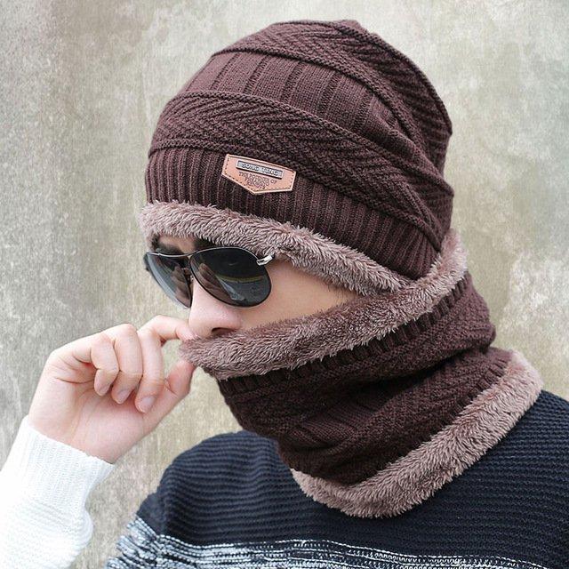 new knitted hat fashion Beanies Knit Men's Winter Hat Caps Skullies Bonnet  For Men Women Beanie Casual Warm Baggy Bouncy 19