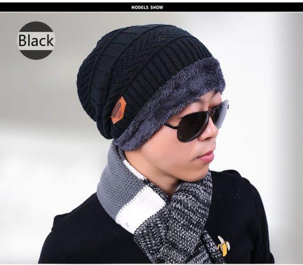 new knitted hat fashion Beanies Knit Men's Winter Hat Caps Skullies Bonnet For Men Women Beanie Casual Warm Baggy Bouncy 22