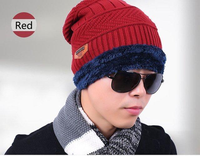 new knitted hat fashion Beanies Knit Men's Winter Hat Caps Skullies Bonnet  For Men Women Beanie Casual Warm Baggy Bouncy 27