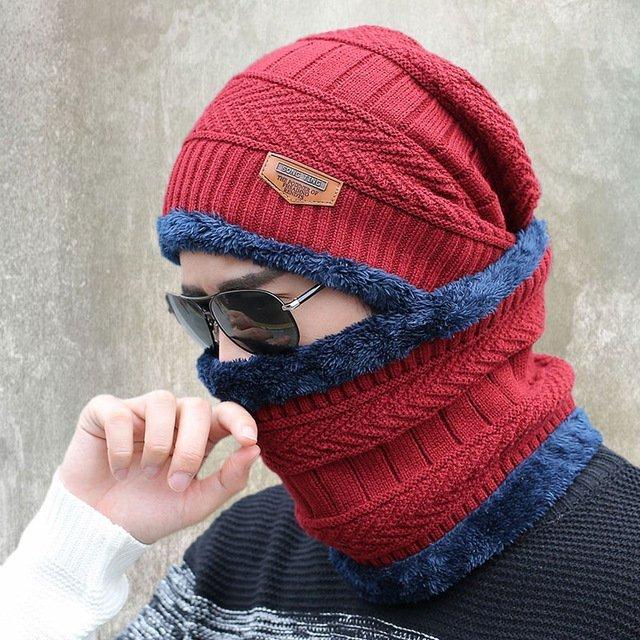 new knitted hat fashion Beanies Knit Men's Winter Hat Caps Skullies Bonnet  For Men Women Beanie Casual Warm Baggy Bouncy 31