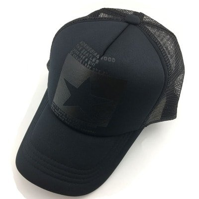 New Five-pointed Big Star Pattern Mesh Baseball cap 20