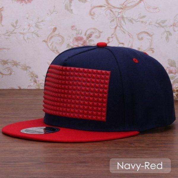 3D snapback cap raised soft silicon square pyramid flat baseball cap 8
