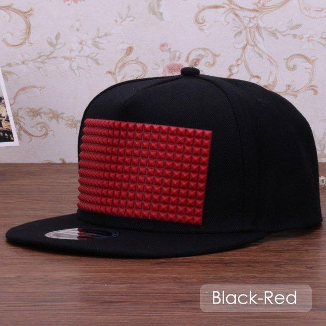 3D snapback cap raised soft silicon square pyramid flat baseball cap 27