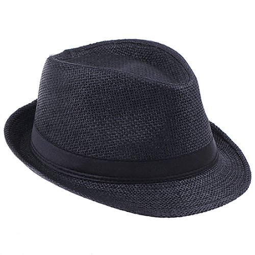 Fashion Handwork Women Summer straw Sun hat Boho Beach Fedora hat Sunhat Trilby Men Panama Hat Gangster Cap Good Pack 25 20