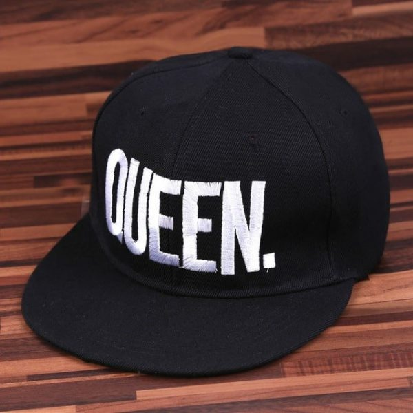 Fashion KING QUEEN Hip Hop Baseball Caps Embroider Letter Couples Lovers Adjustable Snapback Sun Hats for Men Women KH981562 14