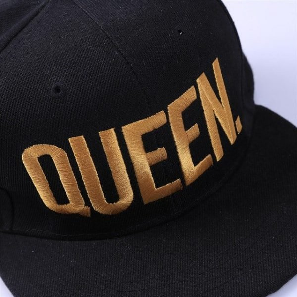 Fashion KING QUEEN Hip Hop Baseball Caps Embroider Letter Couples Lovers Adjustable Snapback Sun Hats for Men Women KH981562 18