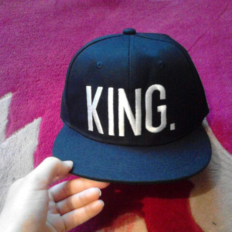 Fashion KING QUEEN Hip Hop Baseball Caps Embroider Letter Couples Lovers Adjustable Snapback Sun Hats for Men Women KH981562 9