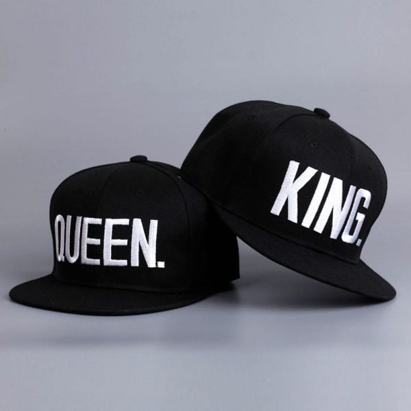 Fashion KING QUEEN Hip Hop Baseball Caps Embroider Letter Couples Lovers Adjustable Snapback Sun Hats for Men Women KH981562 2