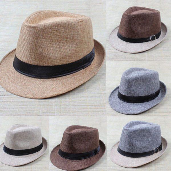 Hot Unisex Hat Women Hat Men Gangster Summer Beach Cap 2