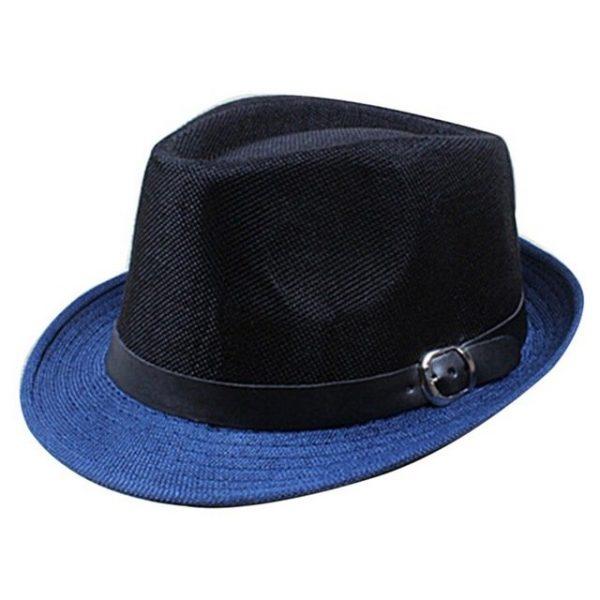 Hot Unisex Hat Women Hat Men Gangster Summer Beach Cap Hard Felt Fedora Trilby Panama Jazz Gangster Hats 14