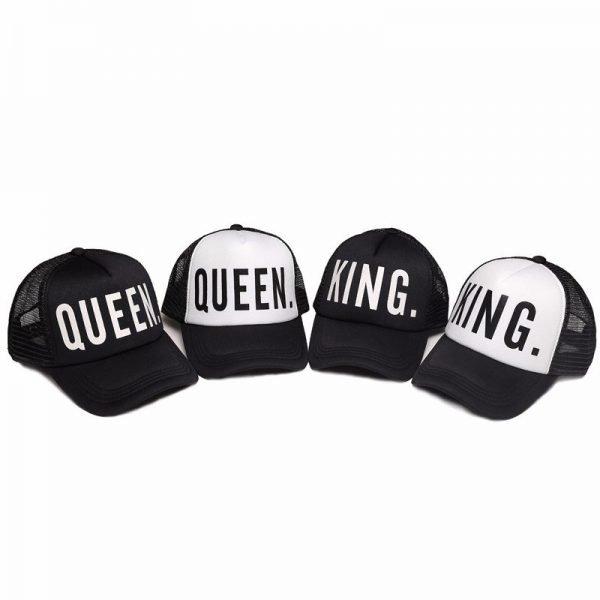 KING QUEEN Baseball Caps 4