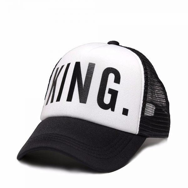KING QUEEN Baseball Caps 6