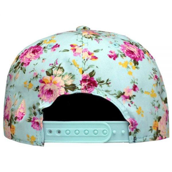 Men Women Baseball Cap Hip Hop Caps Floral Style 6