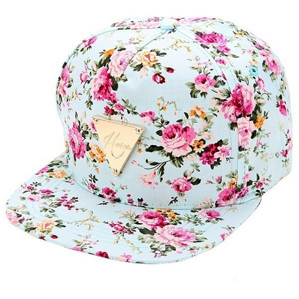 Men Women Baseball Cap Hip Hop Caps Floral Style 18