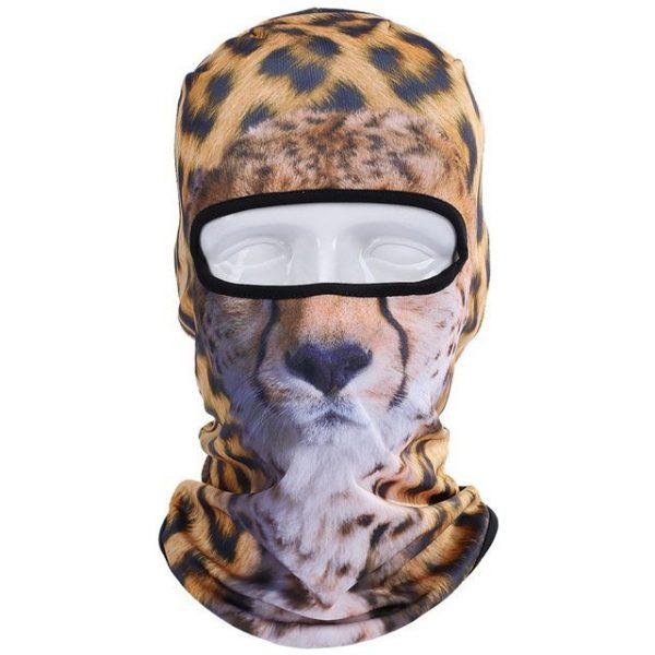 New 3D Animal Cat Dog Full Face Mask Winter Warmer 5