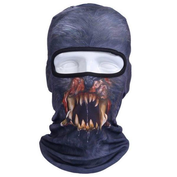 New 3D Animal Cat Dog Full Face Mask Winter Warmer 28