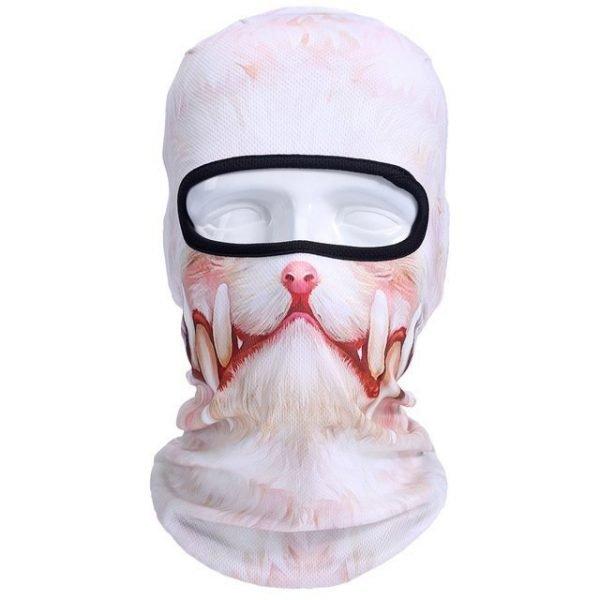 New 3D Animal Cat Dog Full Face Mask Winter Warmer 15