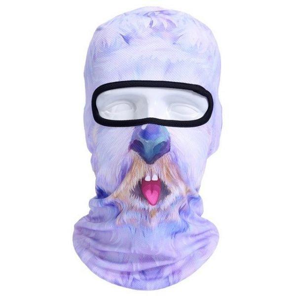 New 3D Animal Cat Dog Full Face Mask Winter Warmer 32