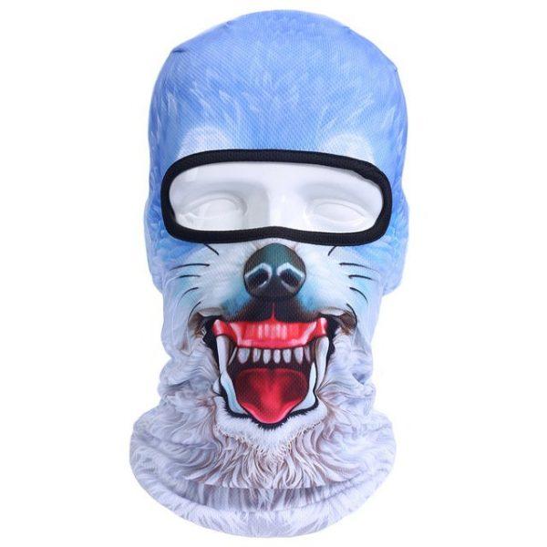 New 3D Animal Cat Dog Full Face Mask Winter Warmer 17