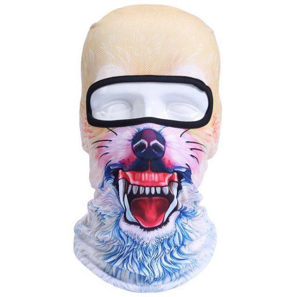 New 3D Animal Cat Dog Full Face Mask Winter Warmer 36