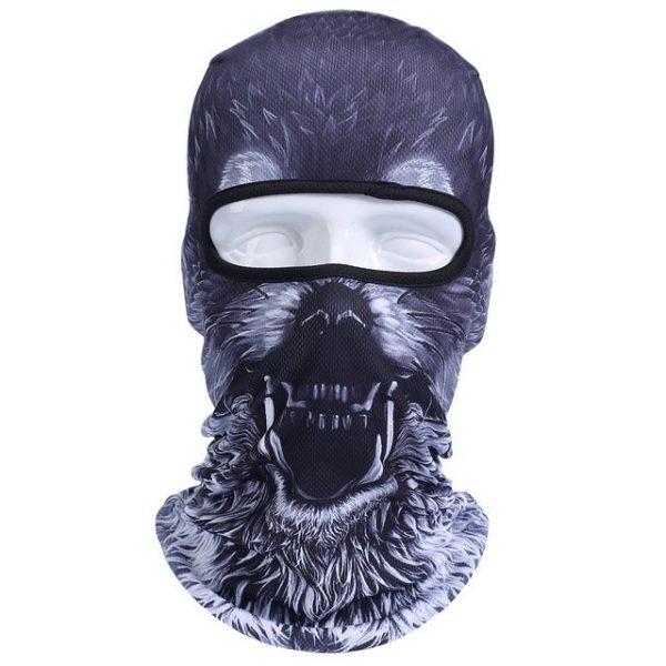 New 3D Animal Cat Dog Full Face Mask Winter Warmer 38