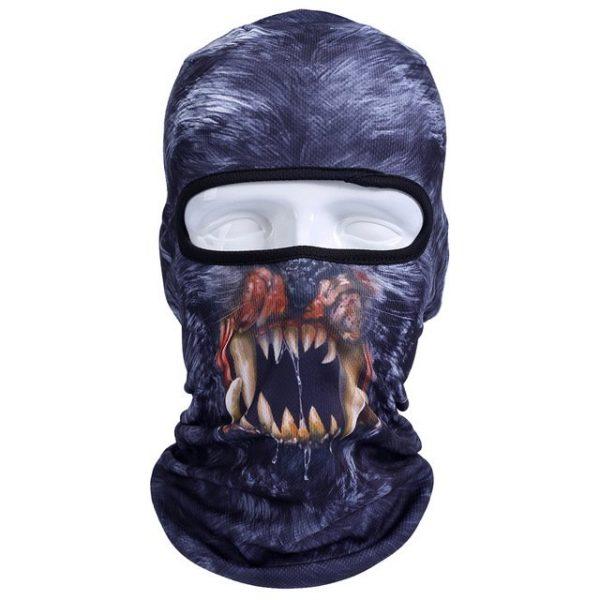 New 3D Animal Cat Dog Full Face Mask Winter Warmer 20
