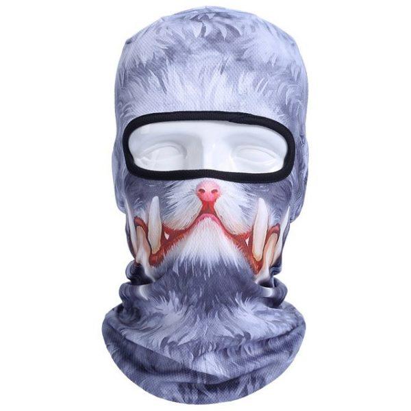 New 3D Animal Cat Dog Full Face Mask Winter Warmer 42