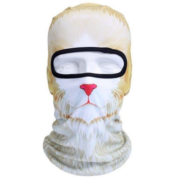 New 3D Animal Cat Dog Full Face Mask Winter Warmer 44