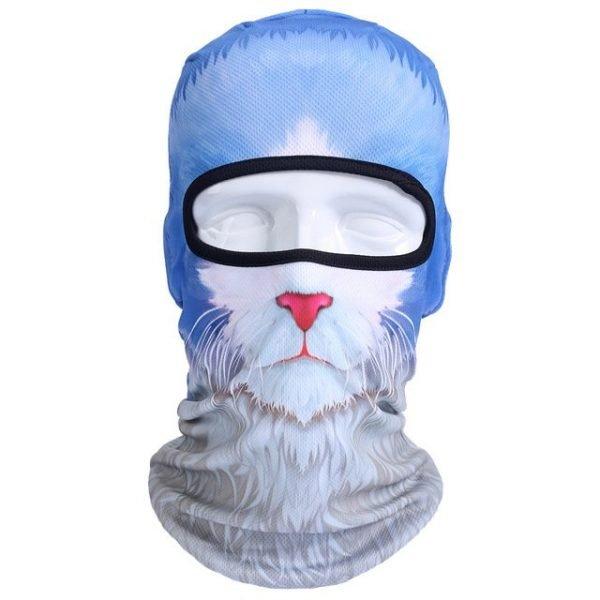 New 3D Animal Cat Dog Full Face Mask Winter Warmer 23