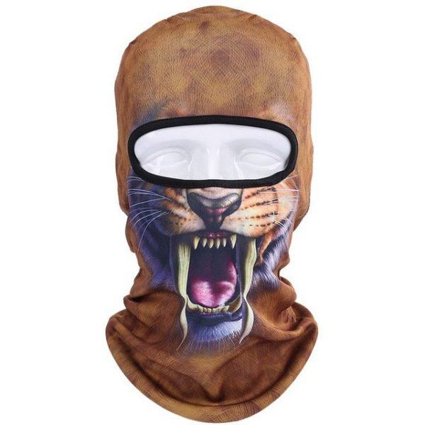 New 3D Animal Cat Dog Full Face Mask Winter Warmer 12