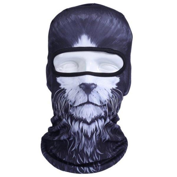 New 3D Animal Cat Dog Full Face Mask Winter Warmer 24