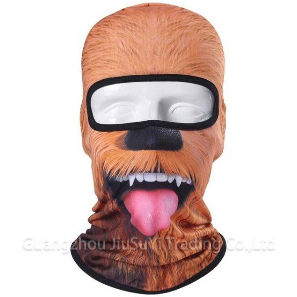 New 3D Animal Cat Dog Full Face Mask Winter Warmer 50