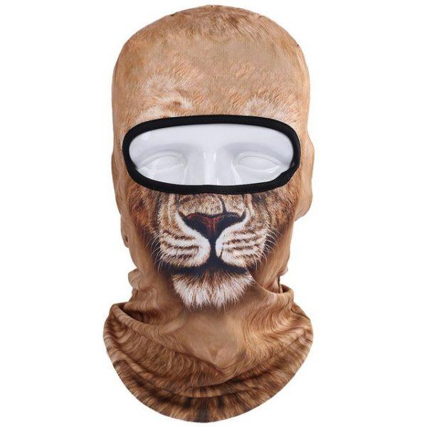 New 3D Animal Cat Dog Full Face Mask Winter Warmer 7