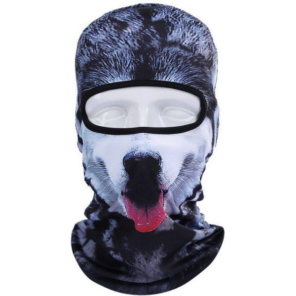 New 3D Animal Cat Dog Full Face Mask Winter Warmer 9