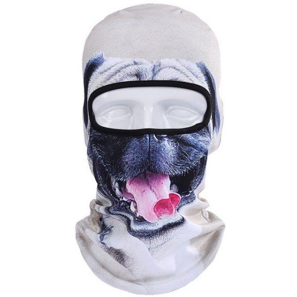 New 3D Animal Cat Dog Full Face Mask Winter Warmer 10