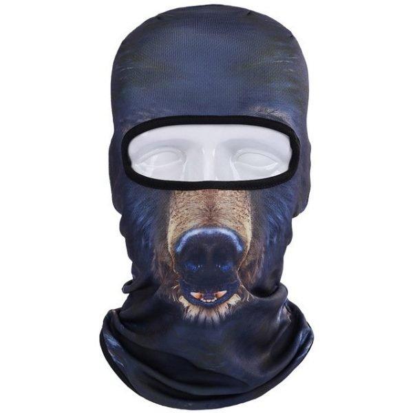 New 3D Animal Cat Dog Full Face Mask Winter Warmer 11