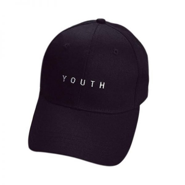 New Fashion Adult baseball Cap Cotton Caps Women Youth Letter Solid Cap 2