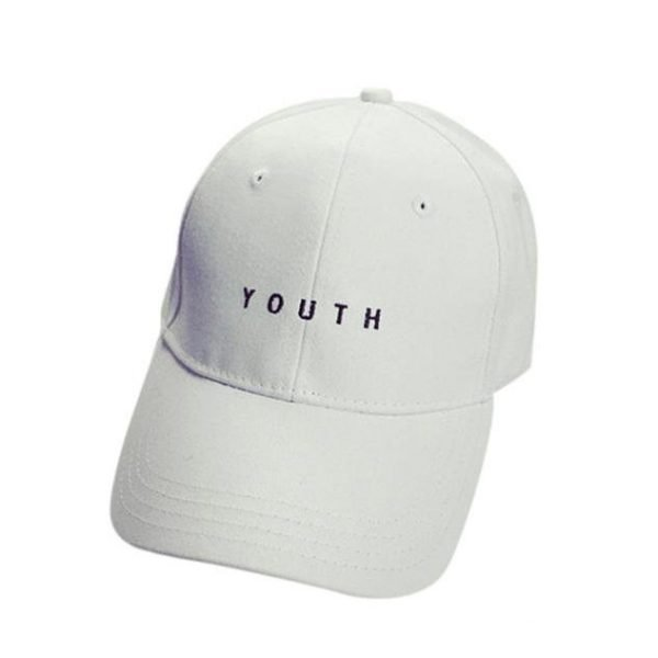 New Fashion Adult baseball Cap Cotton Caps Women Youth Letter Solid Cap 8