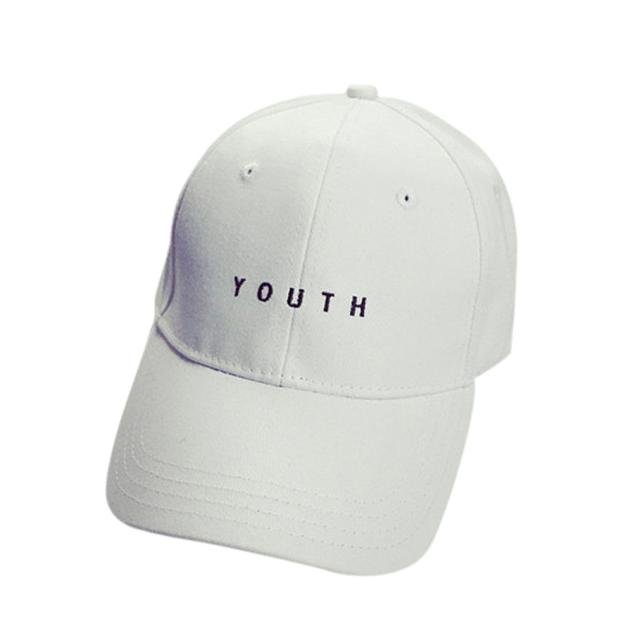 New Fashion Adult baseball Cap Cotton Caps Women Youth Letter Solid Cap 15