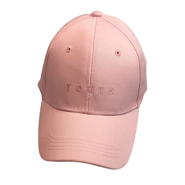 New Fashion Adult baseball Cap Cotton Caps Women Youth Letter Solid Cap 17