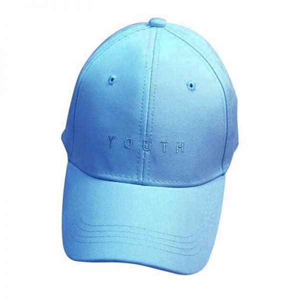 New Fashion Adult baseball Cap Cotton Caps Women Youth Letter Solid Cap 4