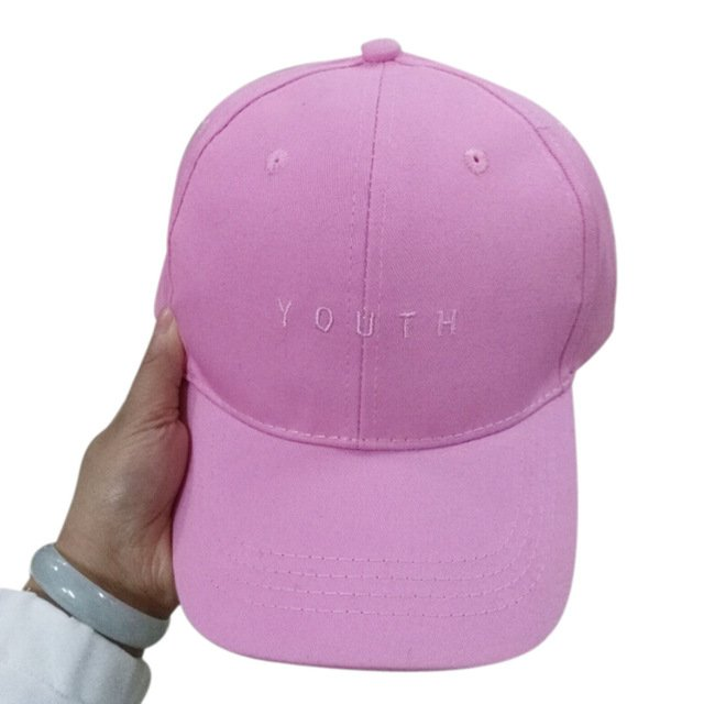 New Fashion Adult baseball Cap Cotton Caps Women Youth Letter Solid Cap 21