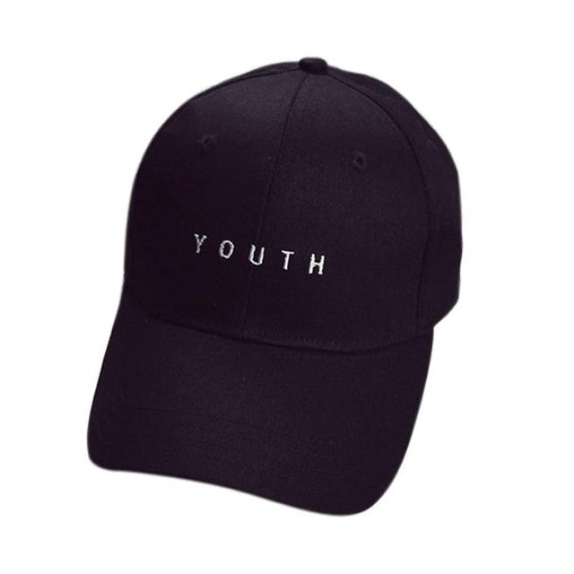 New Fashion Adult baseball Cap Cotton Caps Women Youth Letter Solid Cap 13