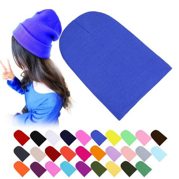 Winter Warm Hats Unisex Knitting Women Men Wool 2