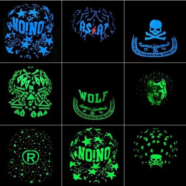 Baseball Cap Hip Hop Fluorescent Light Snapback Caps - Luminous Hat 4