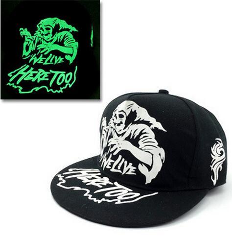 Baseball Cap Hip Hop Fluorescent Light Snapback Caps - Luminous Hat 34