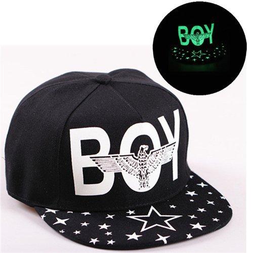 Baseball Cap Hip Hop Fluorescent Light Snapback Caps - Luminous Hat 36